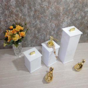 Kit 4 peças Advance Gold