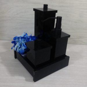 Kit 4 peças Decor Duo Black