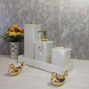 Kit 4 peças Elegance Gold