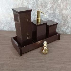 Kit decor 4 peças Gold